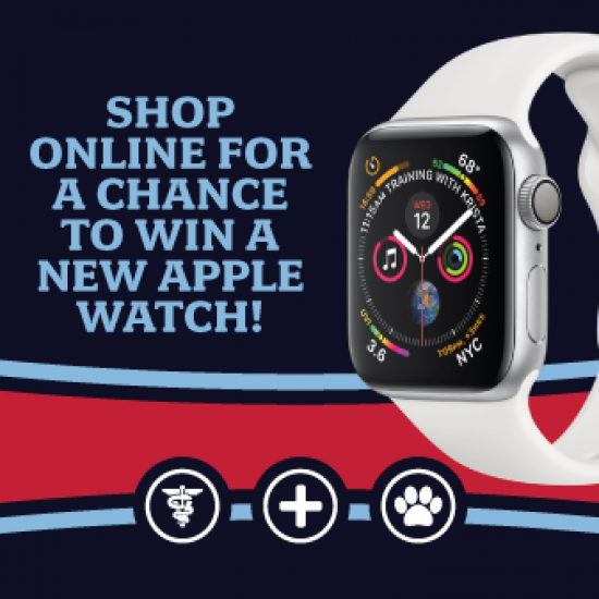 Shop Online for a Chance to Win an Apple Watch