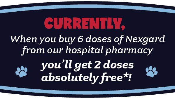 Buy 6 doses or Nexgard, get 2 free - AMC Southern California